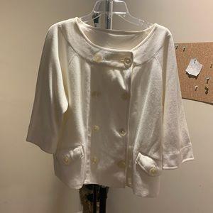 Ralph Lauren cardigan/coat, sz XL 100% Cotton.